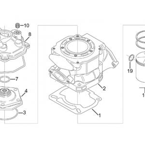 Cylinder - Head - Piston