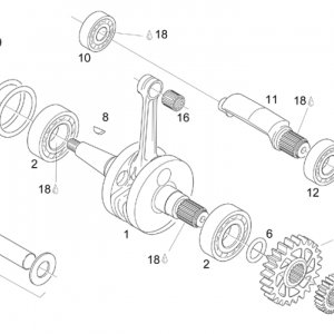 Crankshaft - Balance shaft