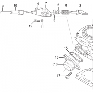 Cylinder - Exhaust valve