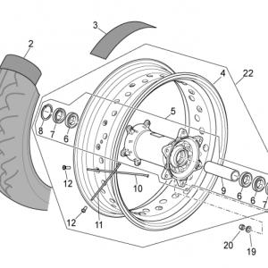 Rear wheel II
