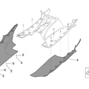 Central body - Side fairings