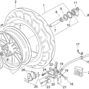 Front wheel - CUSTOM