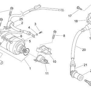 Starter motor - Ignition unit