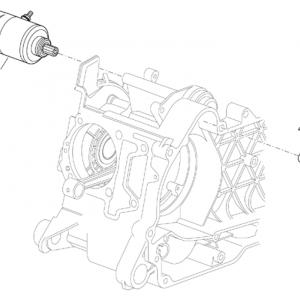 Starter motor I