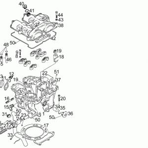 Cylinder - Head - Piston T