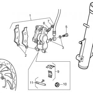 Front brake caliper II