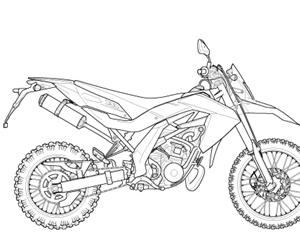 RX 125 eng.122cc (EMEA) 1995-1998
