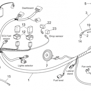Front electrical system