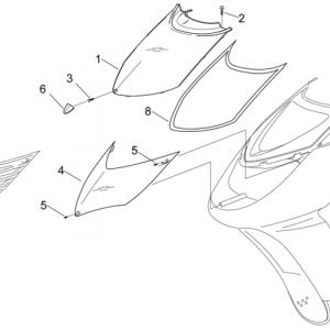 Front body III - Front fairing