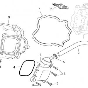 Oil breather valve