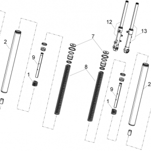 Front fork