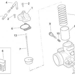 Carburettor Dell'Orto II