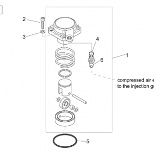 Air compressor (Ditech)