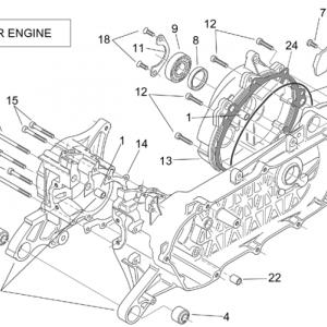 Crank-case (Carburettor)