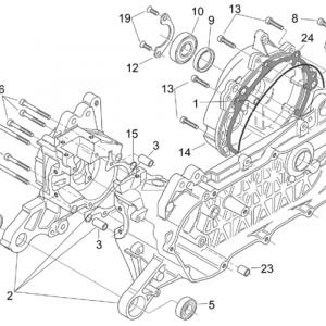 Crank-case (Ditech)