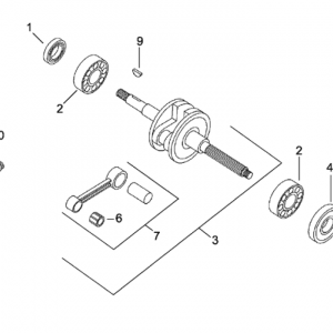 Connecting rod group