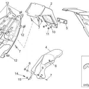 Rear body III