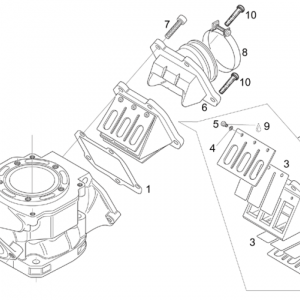 Carburettor flange