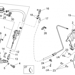 Rear brake system I
