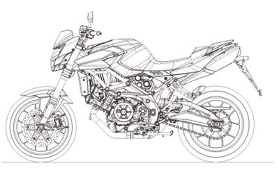 Shiver 750 E3 ABS-NOABS (APAC, EMEA) 2010-2013