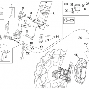Front brake system II