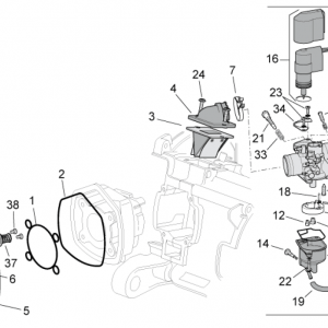 Cylinder head/Carburettor