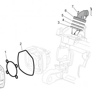 Cylinder head/Throttle body