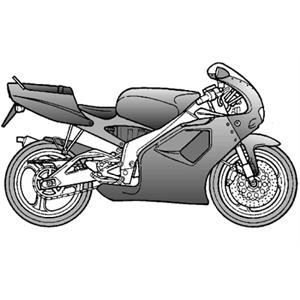 RS 125 eng.123cc 2T NOABS (APAC, EMEA, NAFTA) 1996-1998