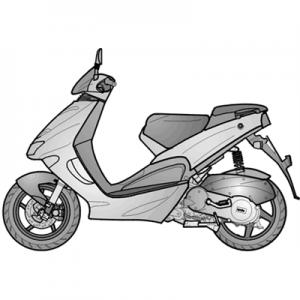 SR 125-150 (APAC, EMEA) 1999-2001
