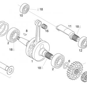 Crankshaft - Balance shaft